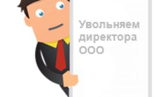 Досрочное увольнение руководителя организации