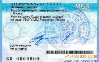 Как получить разрешение на работу для иностранного сотрудника