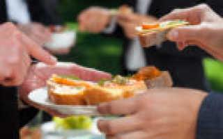 Каковы нормы для оборудования мест для приема пищи?